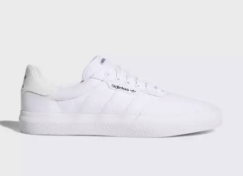 Adidas 3mc vulc all white
