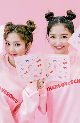 CHUU Estherloveschuu Sticker Vol.2