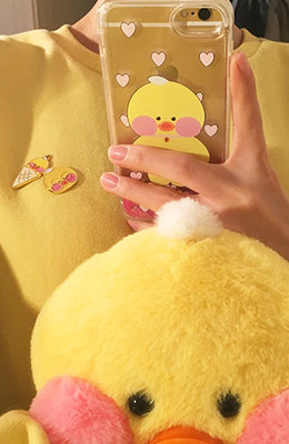 FANFANCHUU Yellow Duck Phone Case