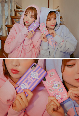CHUU LEEGONG Pinknoir Secret Diary Phone Case