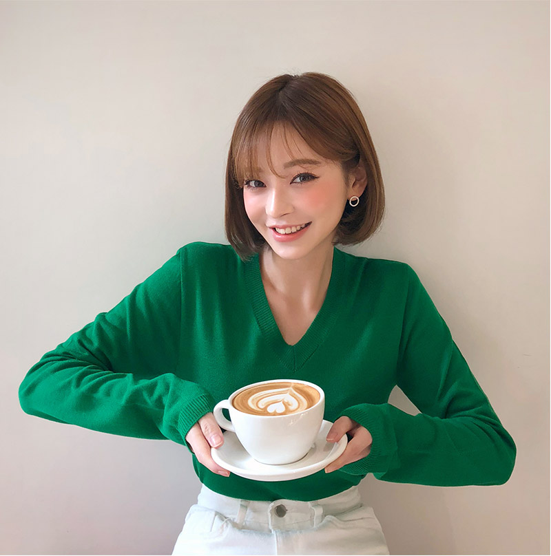 CHUU [CHUU MADE] Life Time Knit Top