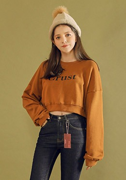 Crust Crop Sweatshirt