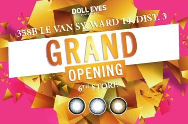 Grand-Opening 6th store Doll Eye