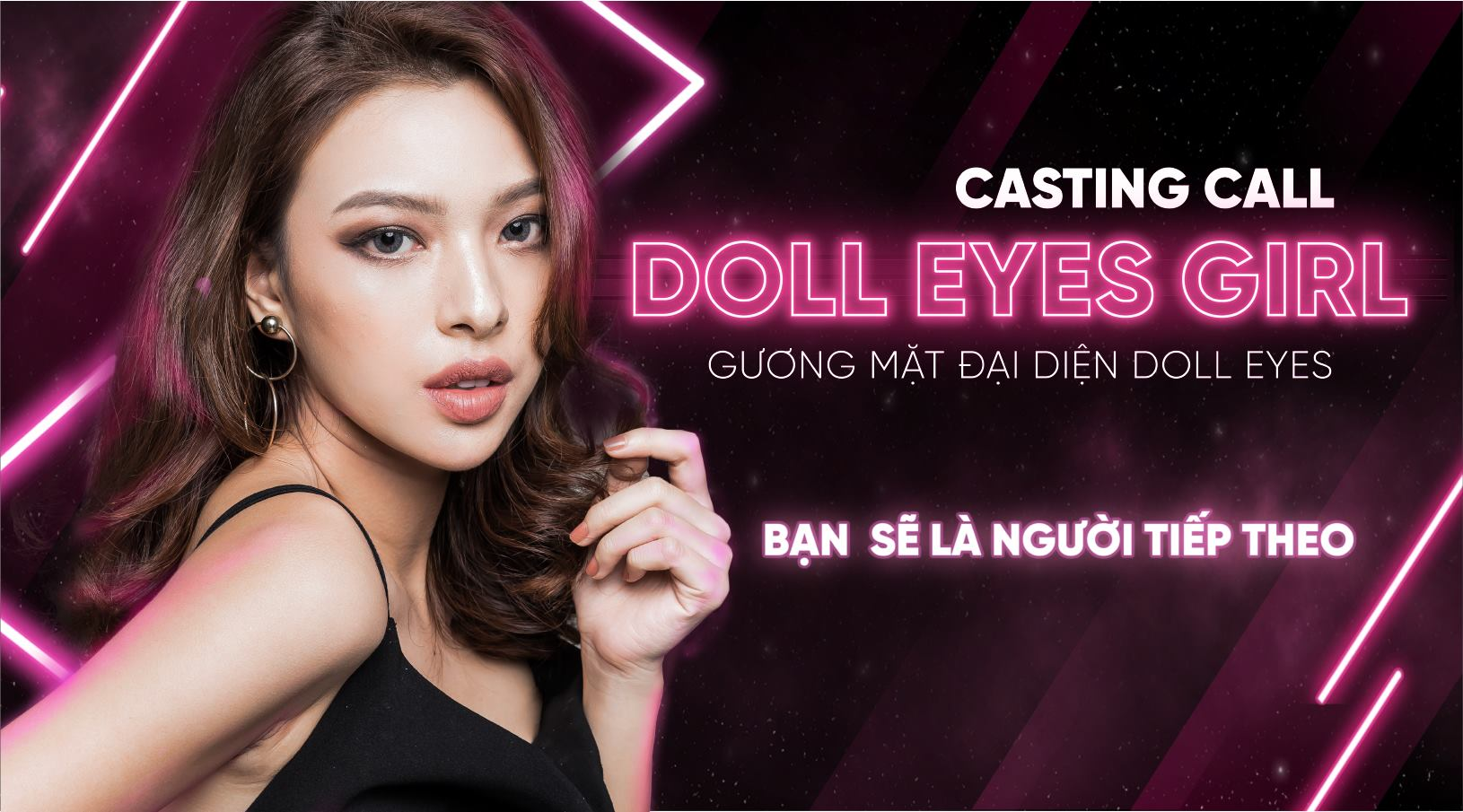 Casting call - DOLL EYES GIRL