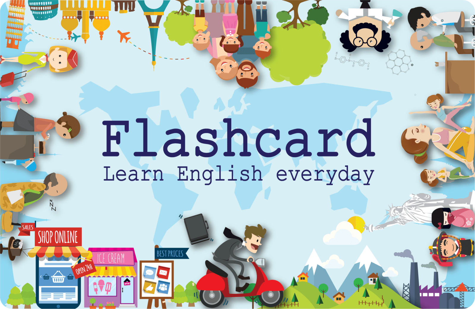 Alphabet Flash card for infants