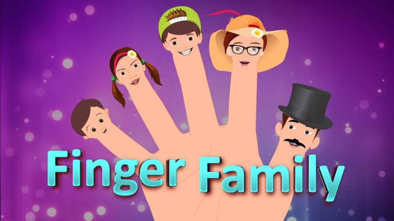 Video học tiếng Anh cho trẻ em: Finger Family (Daddy Finger)