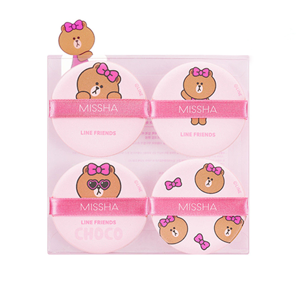 MISSHA - Bông mút Line Friends Cushion Puff (Choco)