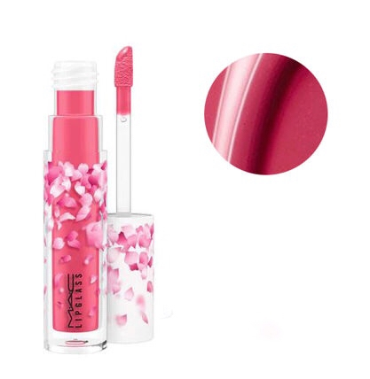 MAC -Son kem bóng LipGlass Boom,Boom,Bloom Limited Editon (Cherry Mochi)