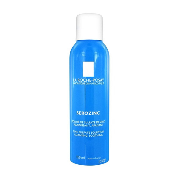 LA ROCHE-POSAY - Xịt khoáng Serozinc Zinc Sulflate Solution Cleansing , Smoothing 300ml