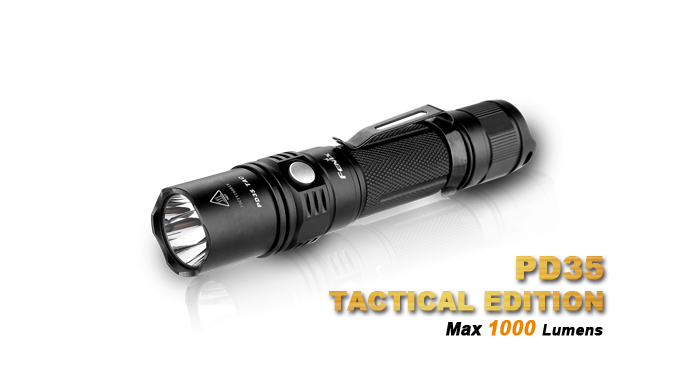 Đèn pin Fenix - PD35 Tactical - 1000 lumens (2015 Edition)