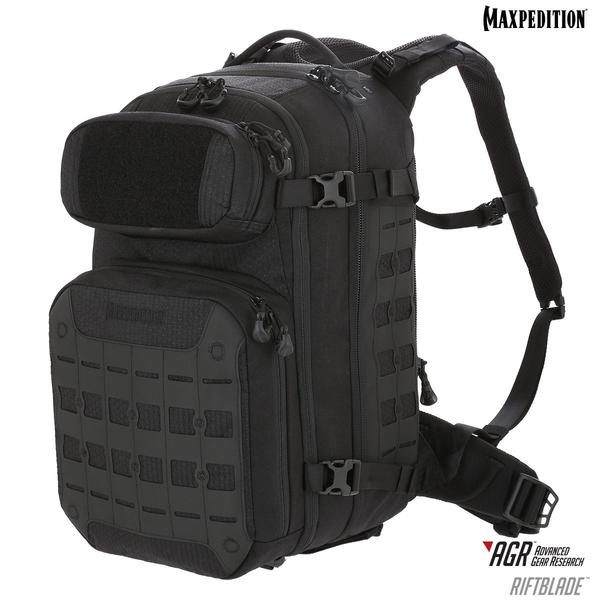 Maxpedition - Ba Lô RIFTBLADE™ CCW-Enabled Backpack 30L (Màu Đen - RBDBLK)