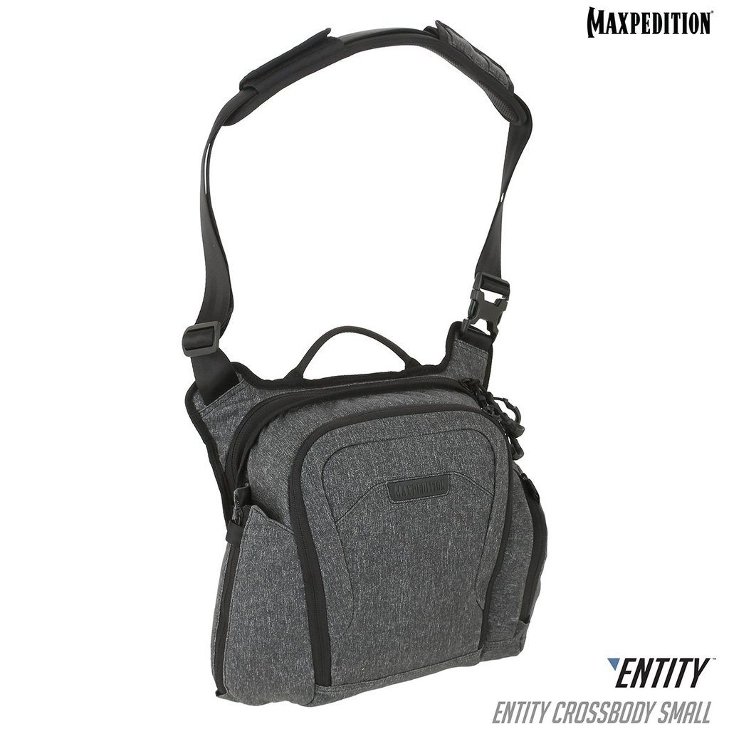 Maxpedition - Túi ENTITY™ Crossbody Bag - SMALL - 9 Lít (Màu Charcoral - NTTCBSCH)