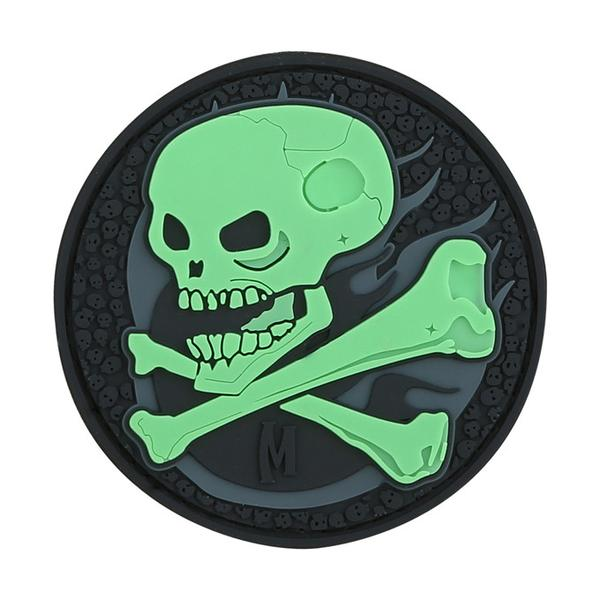 Maxpedition - Phù Hiệu Skull Patch (Glow) 2.5