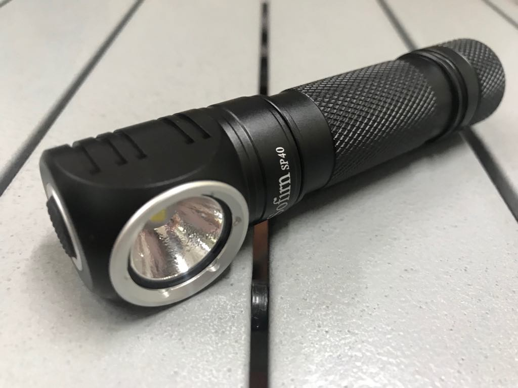 Đèn pin Sofirn - SP40 KIT - 1200 Lumens (Pin 18650 - 3000mAh)