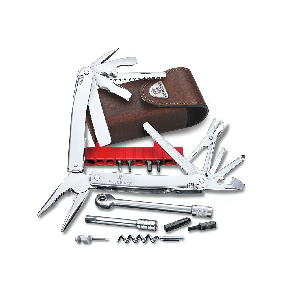 Swisstool Spirit X Plus With Ratchet (3.0239.L - Kèm theo bộ Kit Multi Tools - With Ratchet)