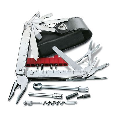Swisstool X Plus Ratchet (3.0339.L - Kèm theo bộ Kit Multi Tools With Ratchet)