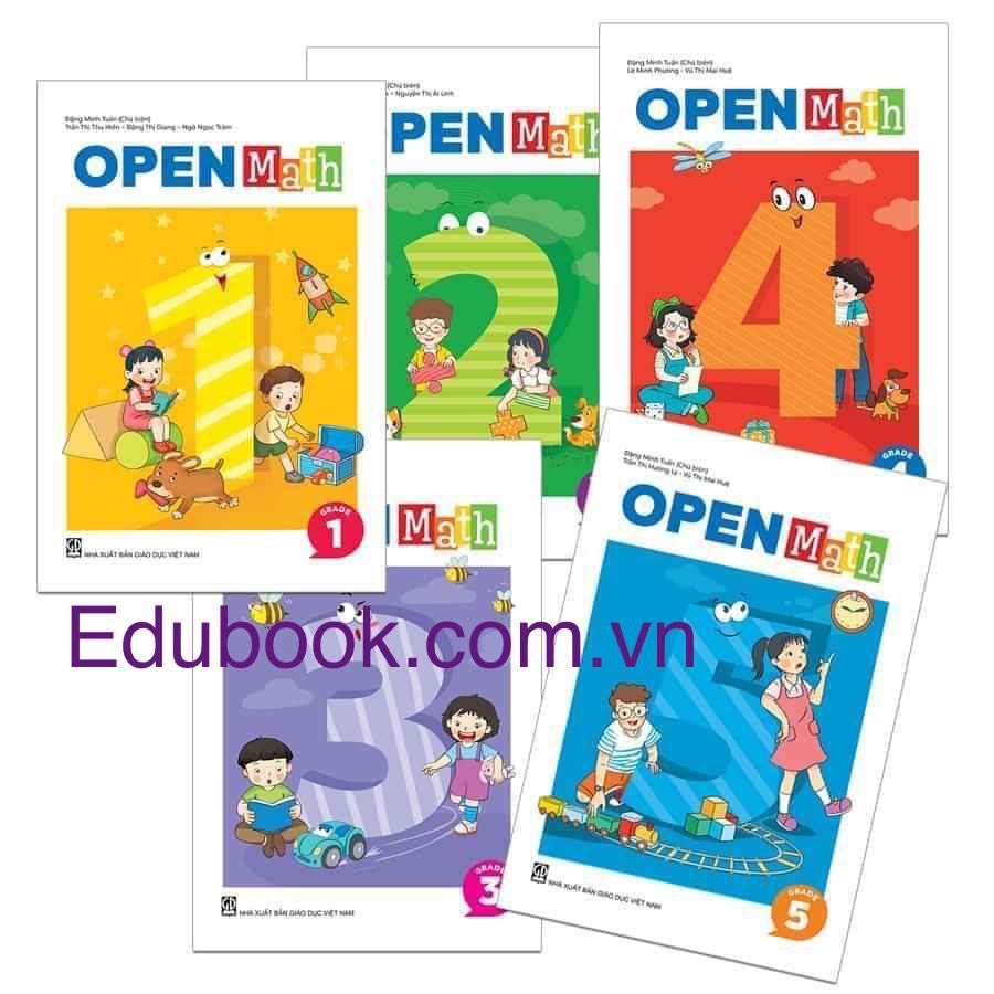 Combo: Openmath Lớp 1-5 (5 cuốn)
