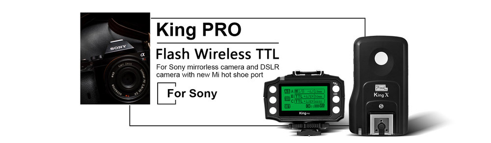 Trigger PIXEL KING PRO for SONY (Mi hotshoe)