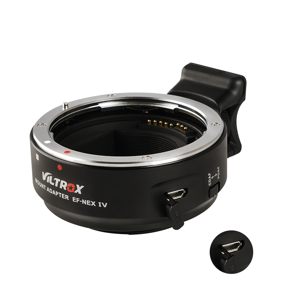 Adapter Viltrox EF-NEX IV - Best adapter for Sony E-mount