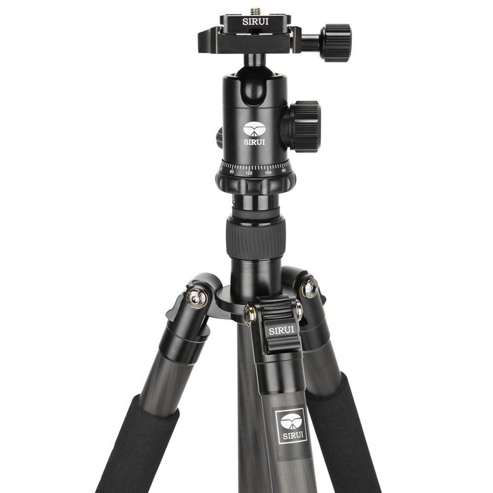 Tripod Sirui Carbon ET1204 + Ball head Sirui E10