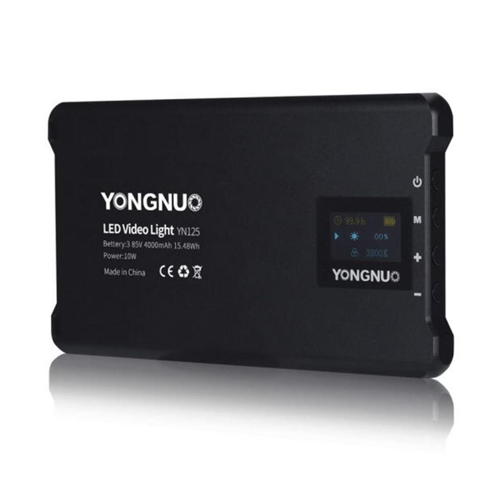 Đèn LED Yongnuo YN125 4000 maH - Best led light for GIMBAL