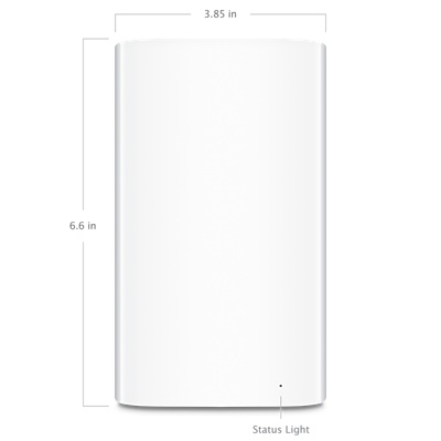 Bộ phát WiFi kiêm ổ cứng back up Apple Airport Time Capsule 2TB