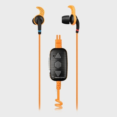 TOUGH TESTED Marine: Waterproof Noise Control Earbuds with Mic - tai nghe siêu bền, chống ồn