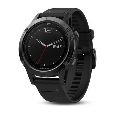 Garmin Fenix 5 Sapphire - 47mm Black with Black Band