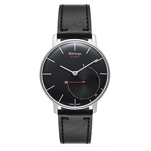 (HN) Đồng hồ thông minh Swiss Made WITHINGS ACTIVITE - BLACK 99% fullbox