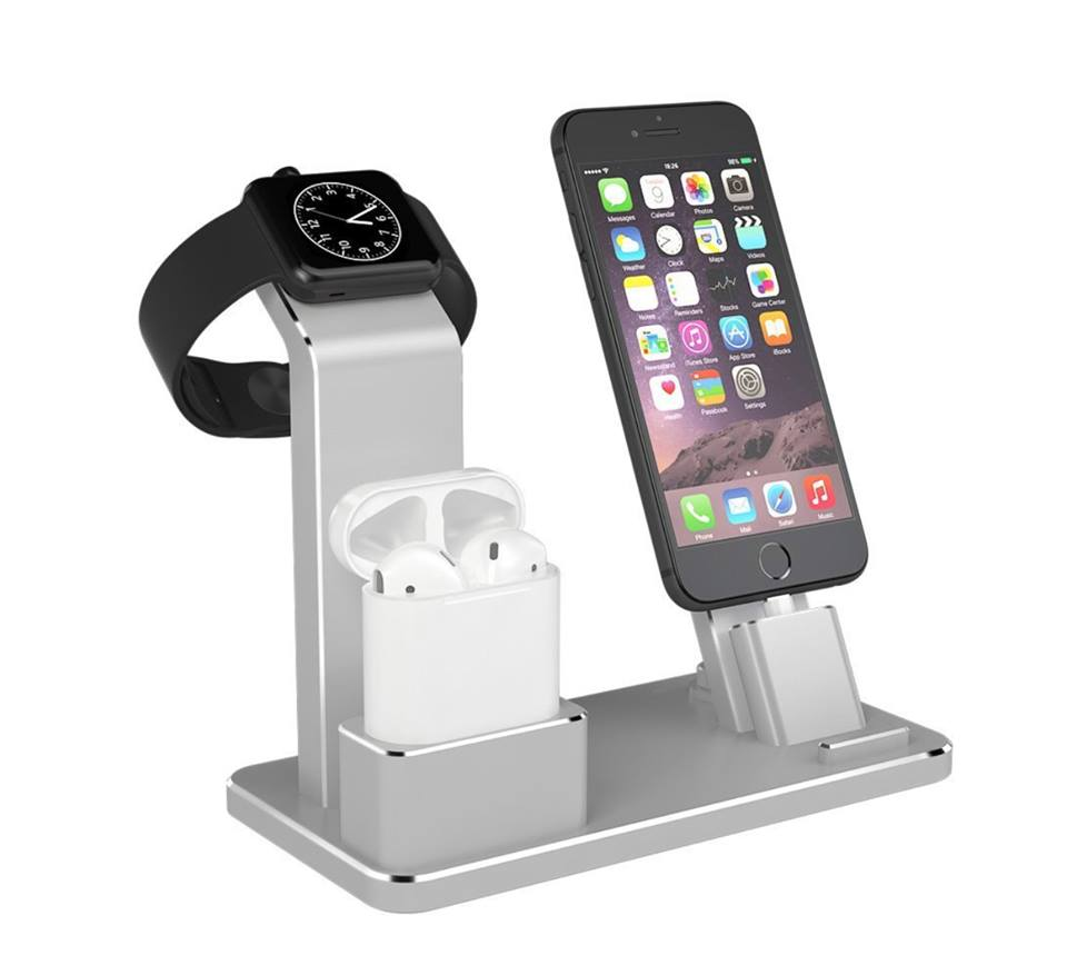 Dock sạc 3 in1 cho Apple Wach/ iPhone/ AirPods
