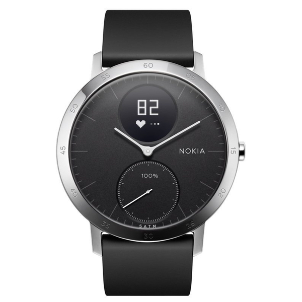 NOKIA Steel HR - 40mm - Đen