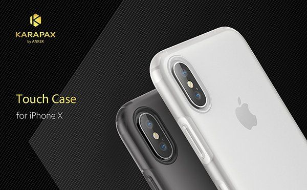 Ốp lưng Anker Karapax Touch for iPhone X - Clear 1