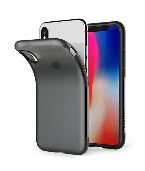 Ốp lưng Anker Karapax Touch for iPhone X - Black 1