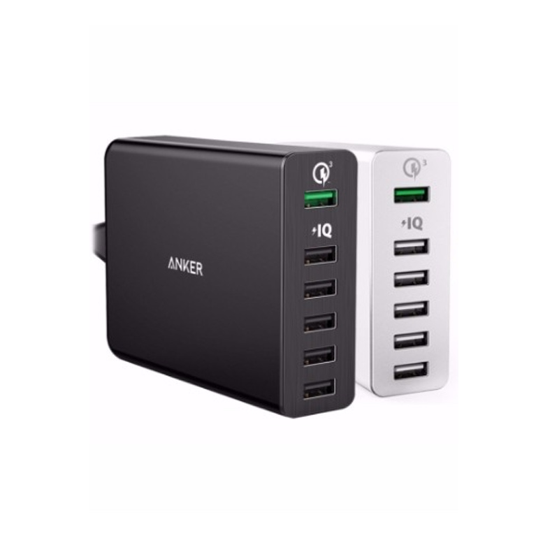Sạc Anker 6 cổng PowerPort+ 6 Quick Charge 3.0