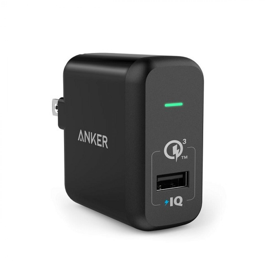 Sạc Anker PowerPort+ 1, 18W, Quick Charge 3.0