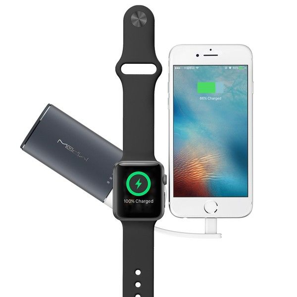 Mipow Power Tube 6000 for Apple Watch