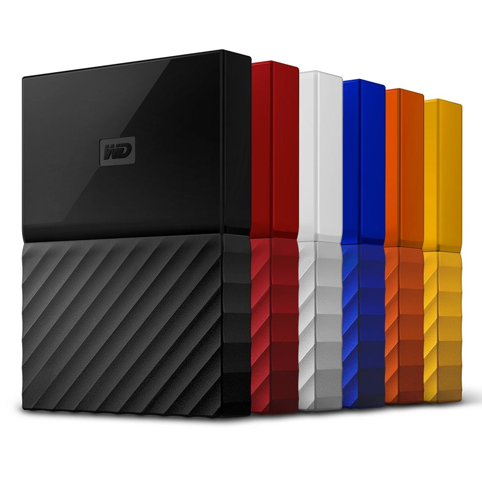 Ổ cứng di động Western Digital My Passport 4TB USB 3.0 (2016)