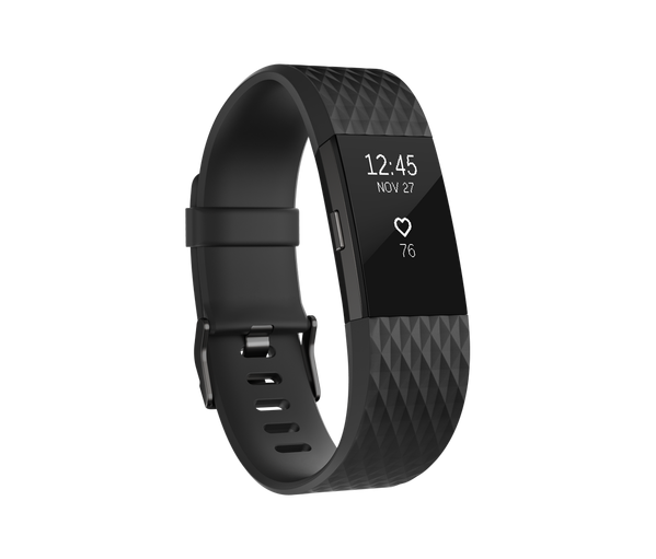 Fitbit Charge 2 - size S (Xách tay) - Gunmetal