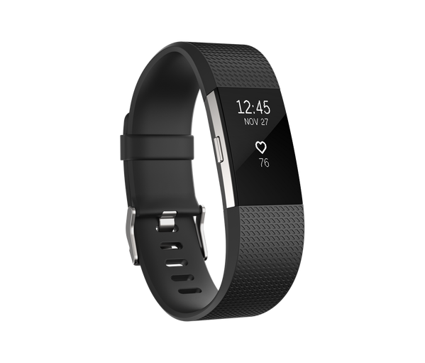 Fitbit Charge 2 - size S (Xách tay) - Đen
