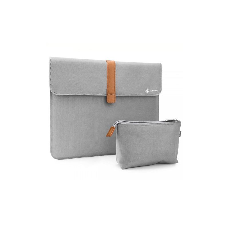 Túi chống sốc Tomtoc Style Envelope + Pouch MB Pro 13 inch New Gray