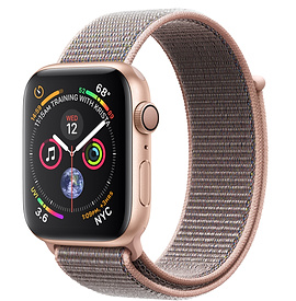 Apple Watch Series 4 GPS 44mm, Gold Aluminum - Pink Sand Sport Loop