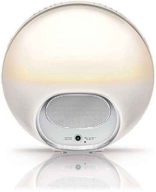 Đèn báo thức Philips Wake-Up Light Alarm Clock with Colored Sunrise