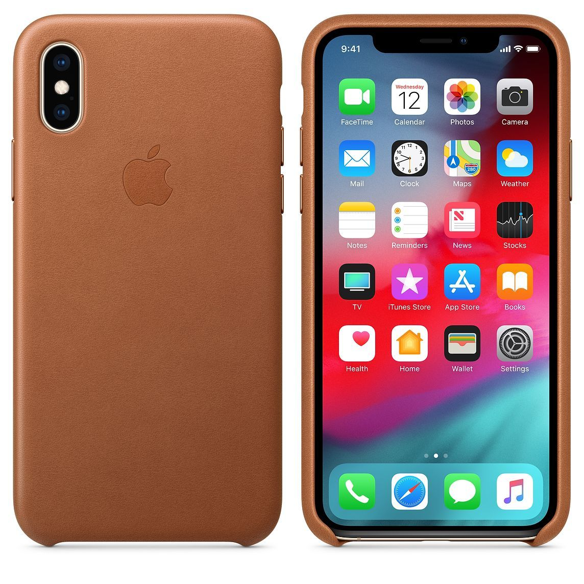 Apple iPhone X / XS Leather Case