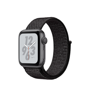 Apple Watch Nike + GPS Series 4 40mm Space Grey - Nike Sport Loop