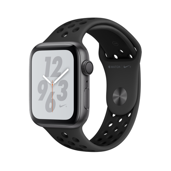 Apple Watch Nike + GPS Series 4 44mm Space Gray Aluminum Case with Anthracite/Black Nike Sport Band
