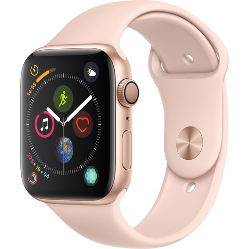 Apple Watch Series 4 44mm GPS+Cellular Gold Pink Sport Band 99%