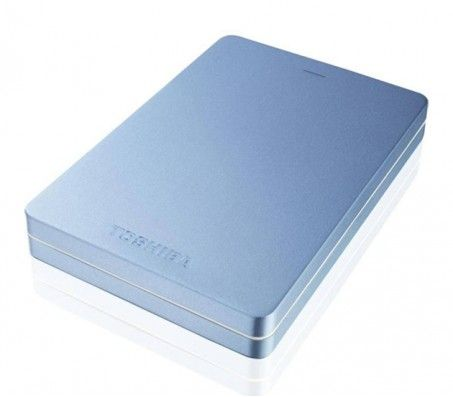 Toshiba Canvio Alumy - Blue - 2TB