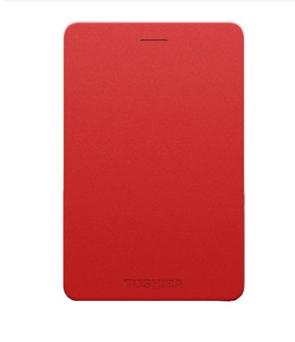Toshiba Canvio Alumy - Red - 2TB
