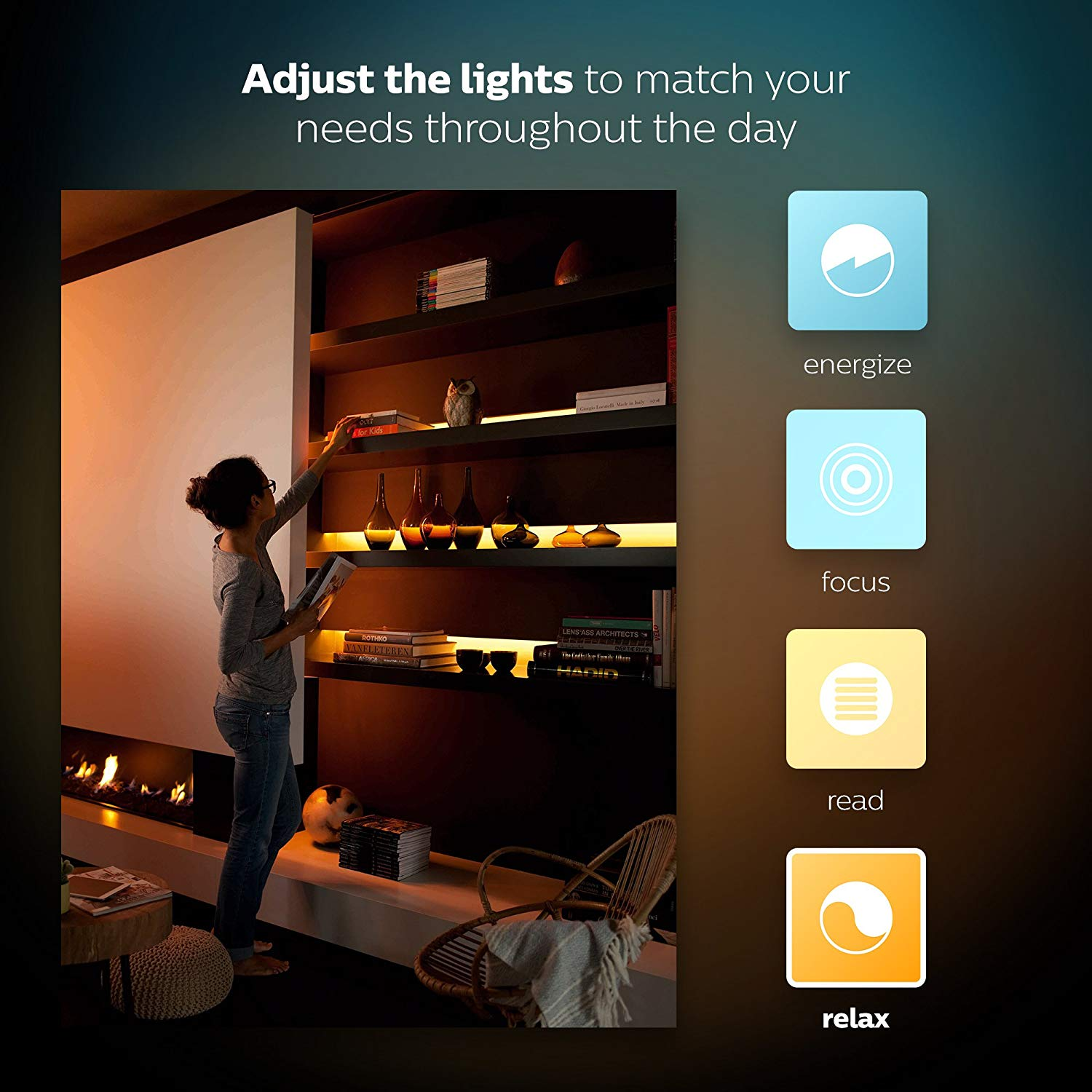 Philips Hue LightStrip Plus Dimmable LED Smart Light Extension