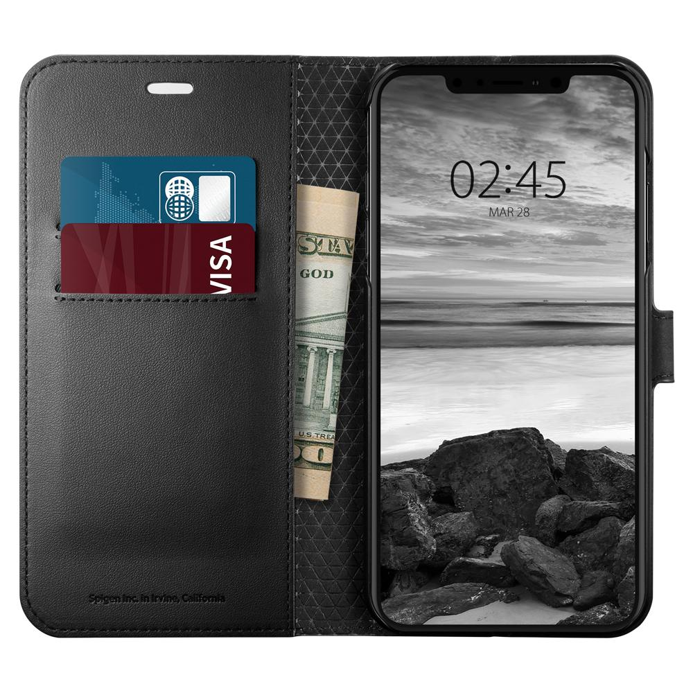 Spigen SGP iPhone XS Max Case Wallet S - Black